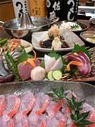 旬のお魚のしゃぶしゃぶコース をお楽しみ下さい ♪